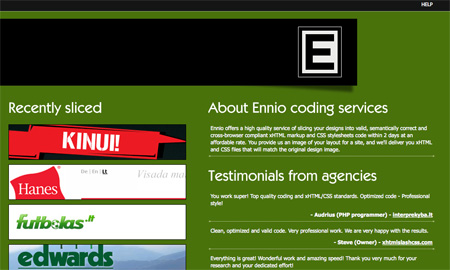 Green CSS Website Designs 14