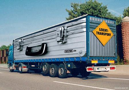 Creative Truck Ads