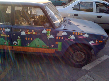 Russian Super Mario Car 3