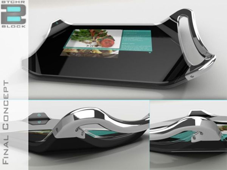 Digital Cutting Board With Integrated LCD Display