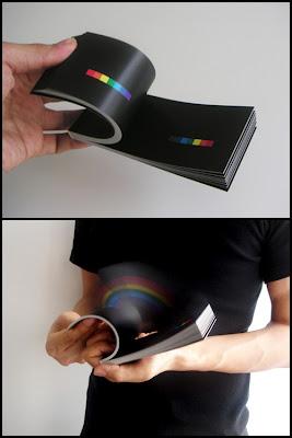 arcoirisnapalmadamao Arco íris na palma da mão