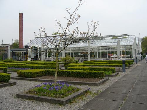 Restaurante De Kas. Exterior