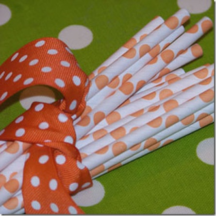 Sample Orange Dots