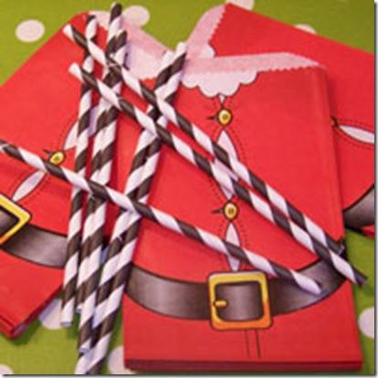 Bags Christmas Santa Suit Sm