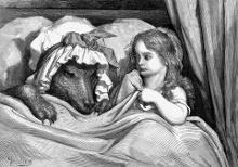 Caperucita Roja (Gustave Doré)