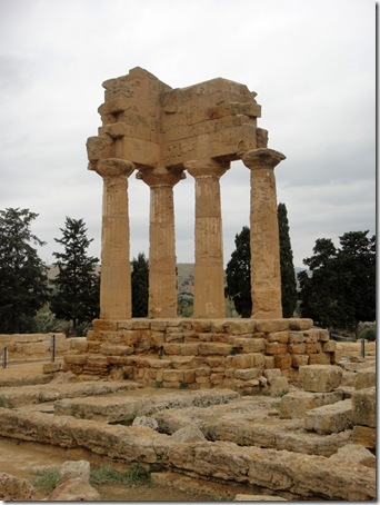 ruins painting-Agrigento