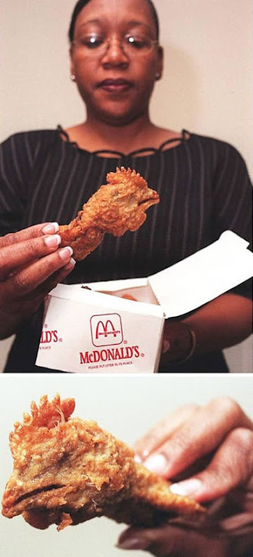 Chicken head found in McDonald's Happy Meal 01
