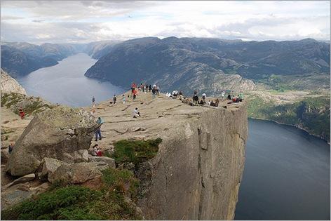 Prekestolen, Kjerag plateau, Forsand, Norway