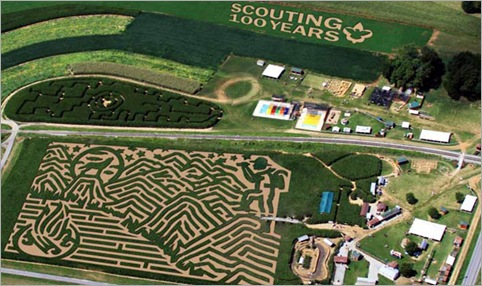 The Amazing Maize Maze, Ronks, Pennsylvania