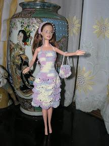 baju barbie rajutan