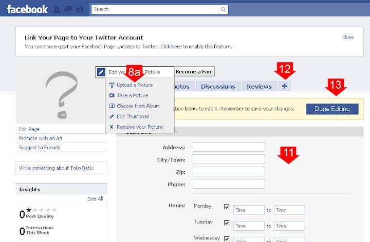 cara membuat toko di facebook