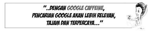 Dengan system baru ini, pencarian google akan lebih relevan, tajam dan terpercaya. Seminimal mungkin Anda akan mendapatkan web sampah. Sebab web berjenis inilah yang sedang diperangi oleh google