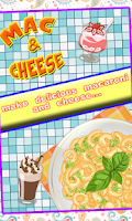Screenshot of Mac & Cheese Maker
