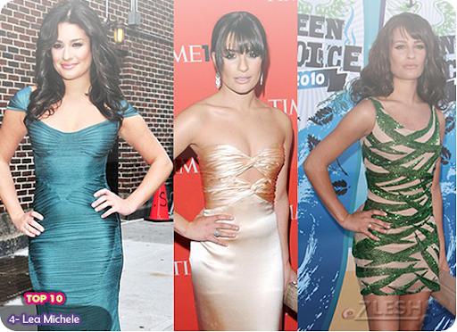 4- Lea Michele