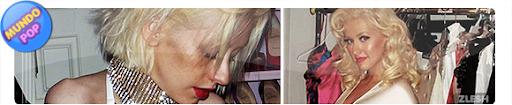 acker divulga fotos de Christina Aguilera semi nua