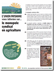 L'union paysanne