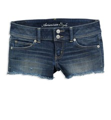 ae frayed shorties