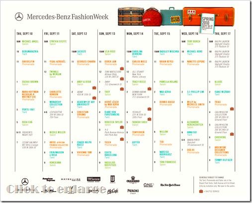 nyfw sept schedule