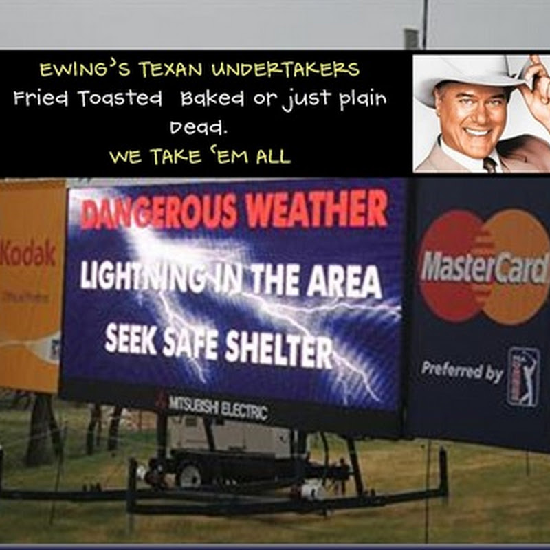 Pic Of The Day: Texas Open Weather Warning