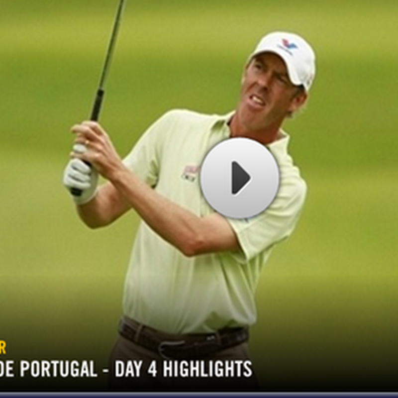 Estoril Open 2010 Final Round Highlights: Thomas is Bjorn Again