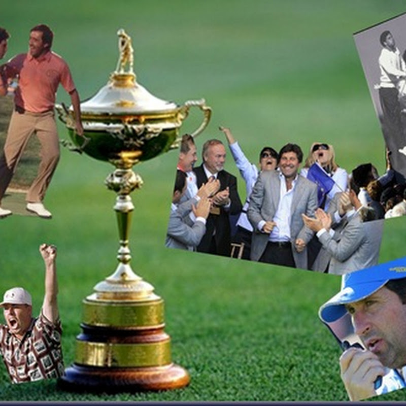 Captain Olazabal For The Ryder Cup 2012