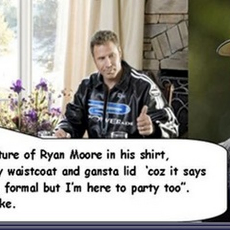 Dear Lord Baby Jesus, We Give Thanks For Ryan Moore. Shake and Bake