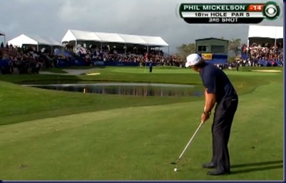 phil mickelson chip farmers insurance final round