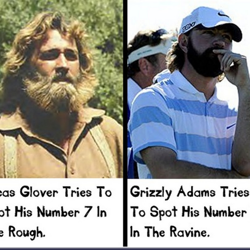 Separated At Birth: Lucas Glover and Grizzly Adams