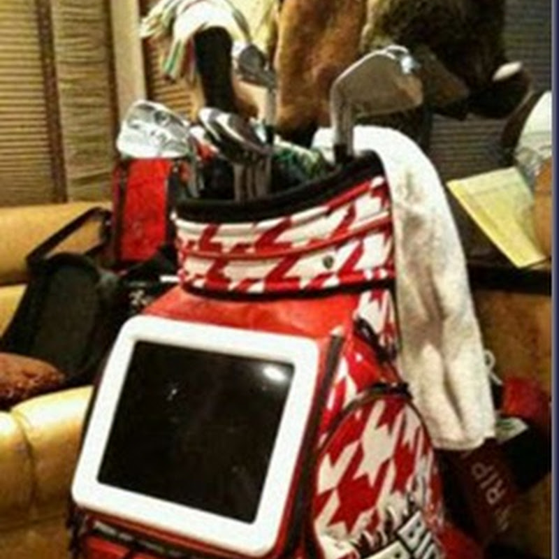 John Daly's New Bag Has an LCD TV Built In.