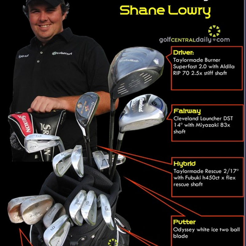 What's In The Bag 2011 Shane Lowry