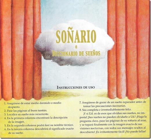 soñario 001