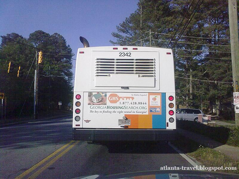 Автобус MARTA в Атланте