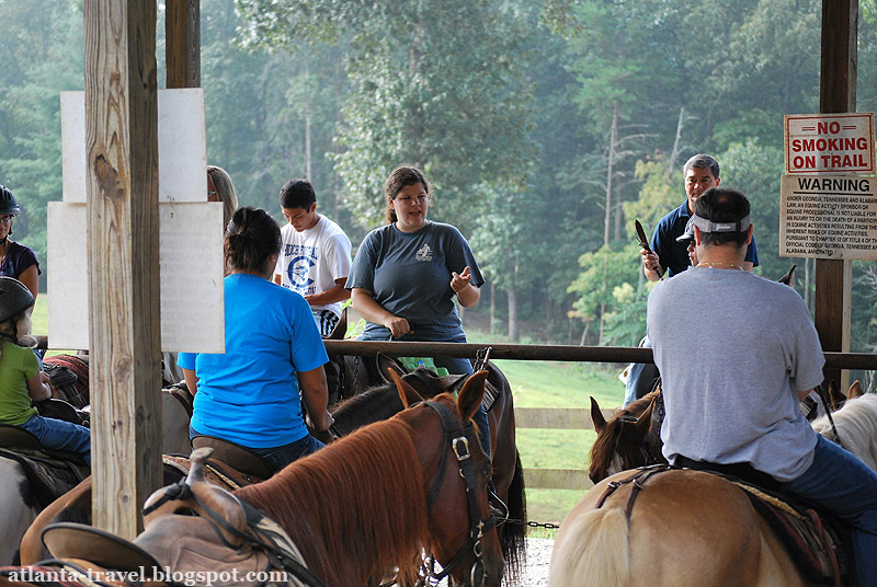 Georgia horseback riding