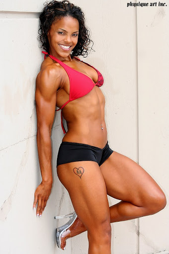 Fit black women body