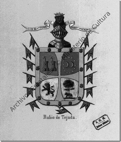 Armas Orden de Calatrava de José de Errazu y Rubio de Tejada