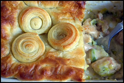 Chicken and Leek Pie 9
