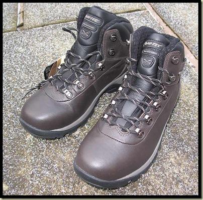 New Hi Tec boots