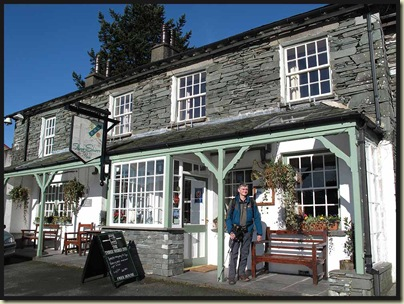 Graham lurches out of the Three Shires Inn