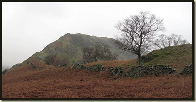 Riggindale Ridge - our route