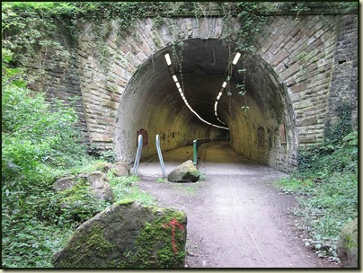 The tunnel at Brinnington