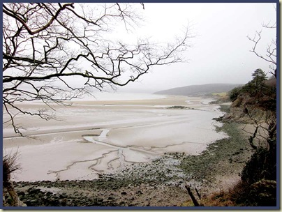 The beach at Far Arnside