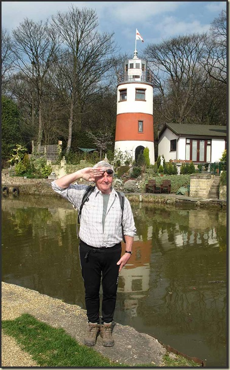 Norman, and the Monton Lighthouse