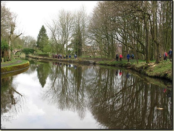 Beside the Leeds & Liverpool Canal at Red Rock