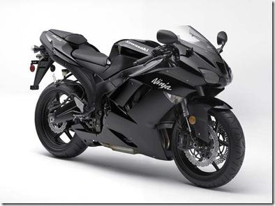 2008 new kawasaki ninja zx6r black