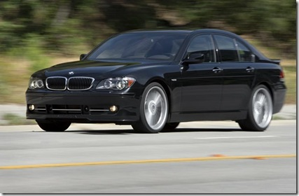 2007 BMW Alpina B7 Front Three Quarter View