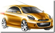 nissan-compact-car-sketch-india-launch-soon-front-new