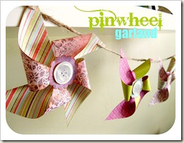 Pinwheel banner