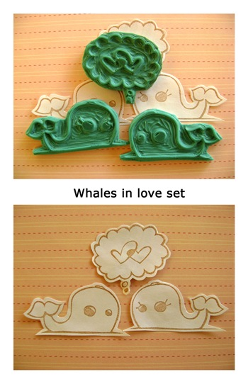 whales in love cocorie