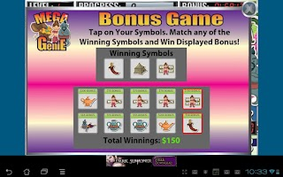 Screenshot of Mega Genie Slot Machine