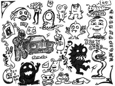 normal_Monster_Doodles